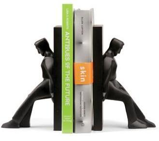 Kikkerland - figural bookends by chris collicott