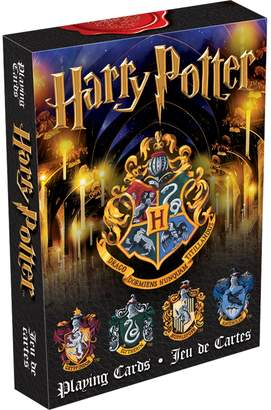 Gama-Go Gamago Aquarius Harry Potter Playing Cards