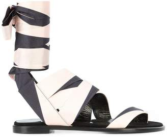 Pierre Hardy ankle-wrap sandals