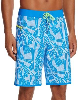 Vineyard Vines Abstract Palms Swim Trunks $89.50 thestylecure.com