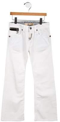 John Galliano Girls' Wide-Leg Jeans