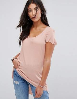 Brave Soul Belinda Dip Back T Shirt