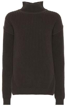 Rick Owens Ribbed wool turtleneck sweater