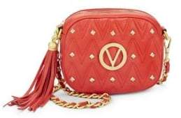 Nina Studded Leather Crossbody Bag