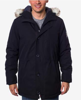 Hfx Men's Faux-Fur-Trimmed Jacket