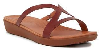 FitFlop Strata Leather Slide Sandal