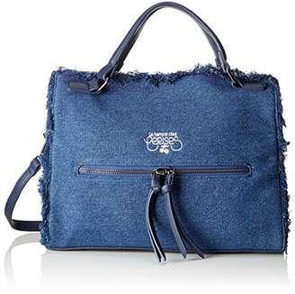 Le Temps Des Cerises Women's LTC4V39 Top-Handle Bag Blue