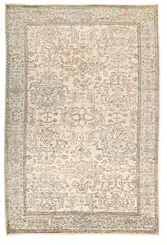 Oushak Area Rug, 6'3 x 9'4