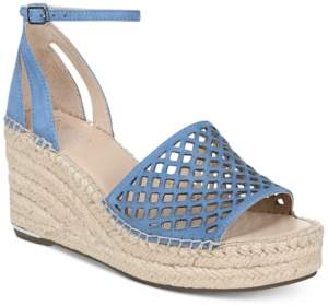 Franco Sarto Calabria Platform-Wedge Espadrille Sandals, Created for Macy's Women's Shoes