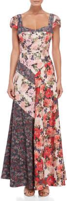 Free People La Fleur Sweetheart Maxi Dress