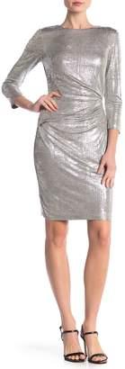 Vince Camuto Metallic Bodycon Dress