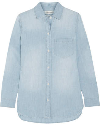 Madewell Chambray Shirt - Blue