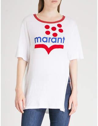 Etoile Isabel Marant Kutai linen T-shirt