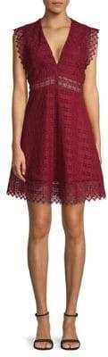 Sandro Lindsey Lace A-Line Dress