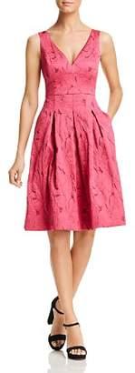 Elie Tahari Mohini Leaf Dress