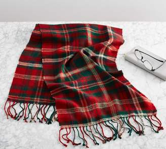 Pottery Barn Lynbrook Plaid Scarf