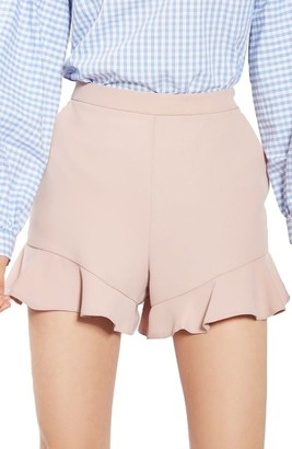 Women's Topshop Frill Hem Shorts $55 thestylecure.com