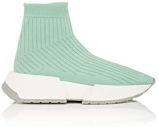 MM6 MAISON MARGIELA Women's Thick-Sole Rib-Knit Sneakers