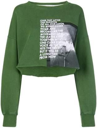 Each X Other long sleeved loose sweatshirt