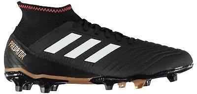 Kids Predator 18.3 Junior FG Football Boots Firm Ground Lace Up Mesh