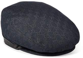 b6f478e54d6 Gucci Black Original GG Canvas Newsboy Hat