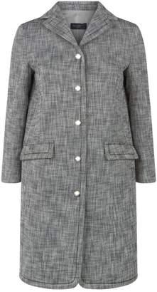 Piazza Sempione Cotton Buttoned Coat