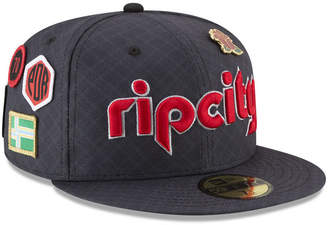 New Era Portland Trail Blazers City On-Court 59FIFTY Fitted Cap