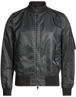 Valentino Studded Bomber Jacket