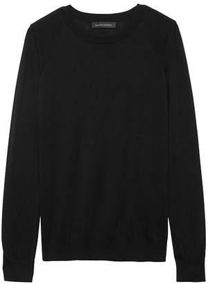 Banana Republic Silk Cotton Crew-Neck Sweater