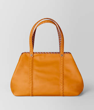 Bottega Veneta MEDIUM TOTE IN NAPPA AND NYLON