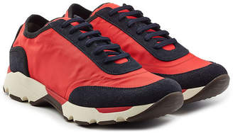 Marni Sneakers with Fabric and Suede