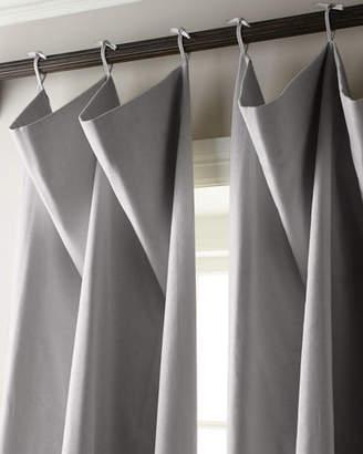 """Parker 6009 Each 108""""L Tie-Top Curtain"""