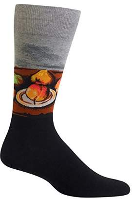 Hot Sox Men's Artist Series Crew Socks