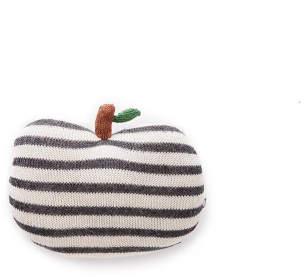 Oeuf NYC Striped Apple Cushion