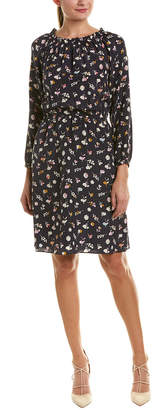 Rebecca Taylor Holly Silk Shift Dress