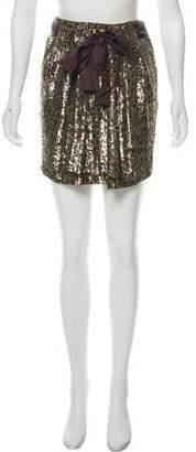 3.1 Phillip Lim Sequin Mini Skirt