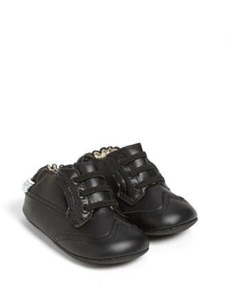 Robeez Mini Shoez 'Dress Man' Slip-On (Baby & Walker)