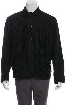 Dries Van Noten Rib Knit Sweater Jacket