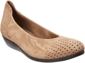 Arche Onara Leather Wedge Flat