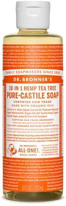 Tea Tree Castile Liquid Soap by Dr. Bronner's (8oz Liquid Soap)