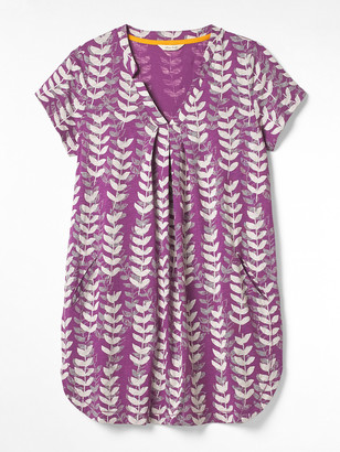 White Stuff Rice Flower Print Jersey Tunic