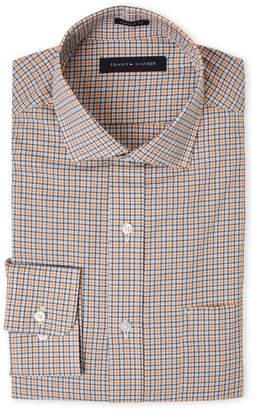 Tommy Hilfiger Plaid Regular Fit Pocket Dress Shirt