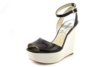 MICHAEL Michael Kors Woman's Lucia Platform Suede Sandal (8.5)