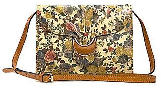 Patricia Nash Denim Fields Collection Van Sannio Floral Cross-Body Bag $169 thestylecure.com