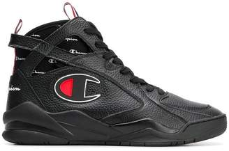 Champion hi-top lace-up sneakers