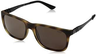 Polo Ralph Lauren Men's Nylon Man Rectangular Sunglasses