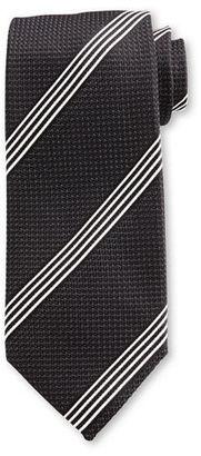 TOM FORD Textured Stripe Silk Tie $250 thestylecure.com