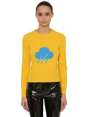 Alberta Ferretti Rain Wool & Cashmere Knit Sweater