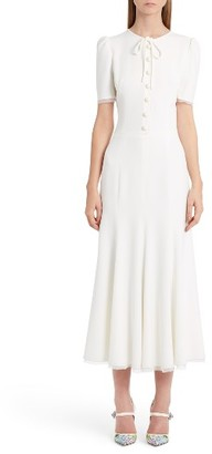 Women's Dolce&gabbana Button Midi Dress $2,675 thestylecure.com