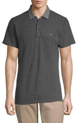 Saks Fifth Avenue Short-Sleeve Cotton Polo